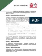 Convenio Colectivo y Acuerdo Marco Fdo