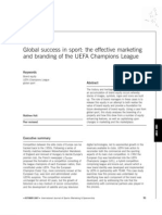 Branding of the UEFA Champions League