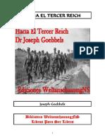 Goebbels Joseph-Hacia El Tercer Reich