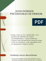 Los ocho estadios psicosociales de Erikson
