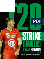 Book For Fast Bowllers