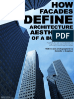 How Facades Define Architecture Aesthetics of a Building