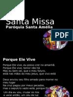 Letras Santa Amelia