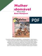 82. Mulher indomavel  - Anne Hampson.doc