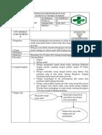 8.4.4.2 SOP penilaian kelngkapan dan ketepatan isi rekam medis