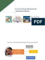 07Enfoques y competencias de las áreas del currículo nacional