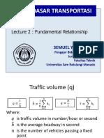 Lecture 2 - Transportation Fundamentals - Fundamental Relationships - updated (1)