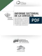 Informe Sectorial de la Consulta
