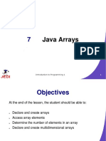 JEDI Slides-Intro1-Chapter07-Java Arrays