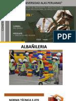 ALBAÑILERIA 1 - CONSTRUCCION I TRABJ2