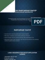 pembuatan rancangan haccp