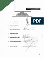 Subcomisión de Acusaciones Constitucionales 14 JUN 2016 - Votación Denuncia Constitucional 106