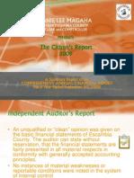 Citizens Report 2009