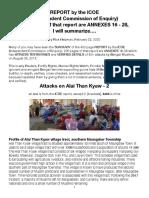 ICOE Alai Than Kyaw 2 Attacks, Summarized