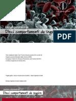 Pieghevole Coronavirus - Ministero della Sanità - febbraio 2020