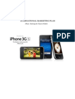 iPhone 3GS International Marketing Plan China