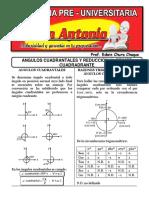 REDUCCION AL PRIMER CUADRANTE ID. TRIGONOMETRICAS