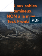 PROJET MASSIF DE SABLES BITUMINEUX - La mine Frontier de Teck Resources