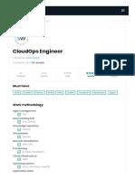 Praca w IT_ Smartways poszukuje CloudOps Engineer. Praca Kraków