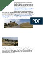 Cetatea dacică Zargidava şi falezele stâncoase ale Siretului de la Brad