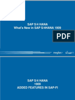 What's New in SAP S4HANA 1909