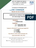 Amelioration du rendement chim - Salma LAHRECHE_4019.pdf