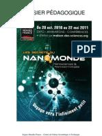 Dossier pédagogique de l'exposition Les secrets du nanomonde