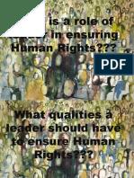 Leadership and Human Rights(3)