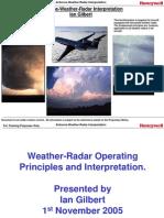 Airborne Weather Radar Interpretation