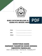 Buku Catatan Belajar Alquran.doc