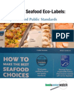 De-Coding Seafood Eco-Labels