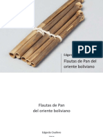 Flautas de Pan del oriente boliviano
