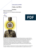 CUBA OEA Toklatian