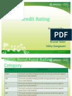 Credit Rating Presentation