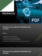 ABONOS ORGÁNICOS