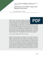 CRITICOS DECIMONONICOS de LA BIBLIA Ensayo Sobre Engels y Bakunin Como Lectores - Paula Bruno