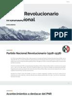PRI Historia