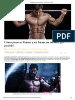 ¿Es posible ponerse fibroso y en forma en un mes_.pdf