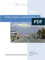 Status Paper on Road Safety in Nepal - Dep of Roads - 2013.pdf