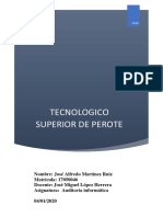 Investigacion Auditoria informatica Unidad 1
