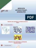 Curs 1 - Medicatia antiinfectioasa - generalitati
