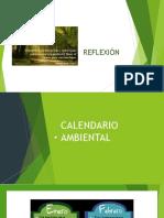 CALENDARIO AMBIENTAL PRESENTACIÓN
