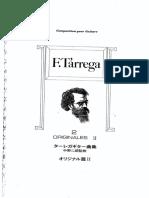 Tarrega - Obras Originales 2