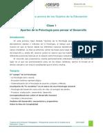 Clase 1 Tramo de Formacion Pedagógica
