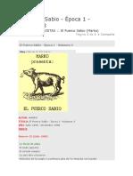 El Puerco Sabio indice Nro 1 indice