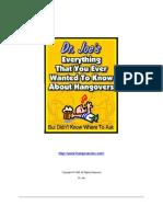 DrJoes Hangover Book Sample