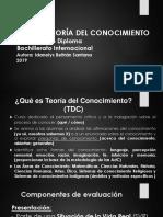 ESTRUCTURA DEL ENSAYO TDC