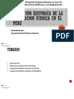 evaluacion historica de los recursos hidricos