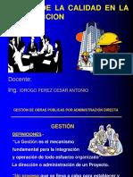 1. GESTION DE LA CALIDAD EN LA CONSTRUCCION
