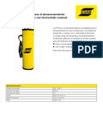 XA00201570 ESAB PSE-5 Dry-storage Container Fact Sheet SP ES